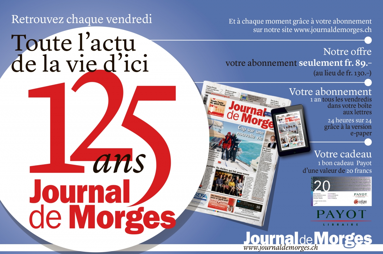 Journal de Morges - Abonnement 2020